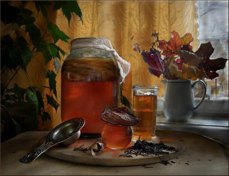 чайный гриб с добавками